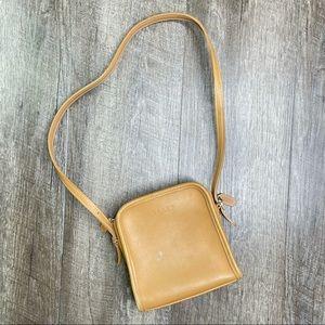Vintage Coach Bellini Camel Leather Bag